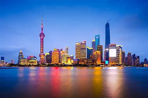 city skylines  asia worldatlascom