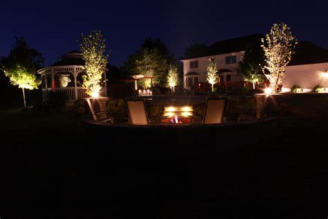 Baron Landscaping » Outdoor Lighting Contractor, Cleveland