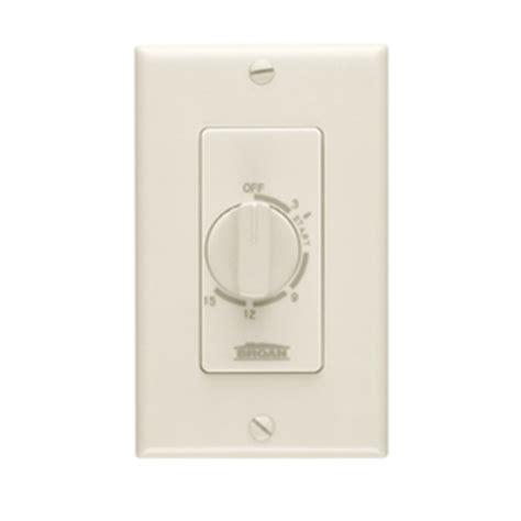 light switch timer lowes shop broan 20 amp ivory timer activated light switch at