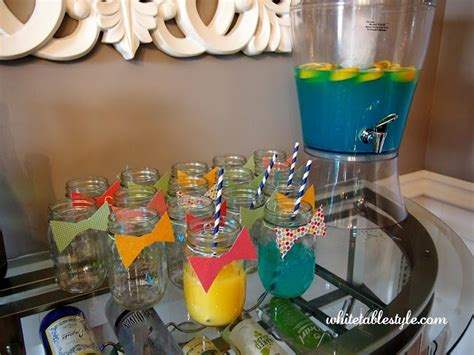 bow tie baby shower theme bow tie boy babyshower jars with bow ties
