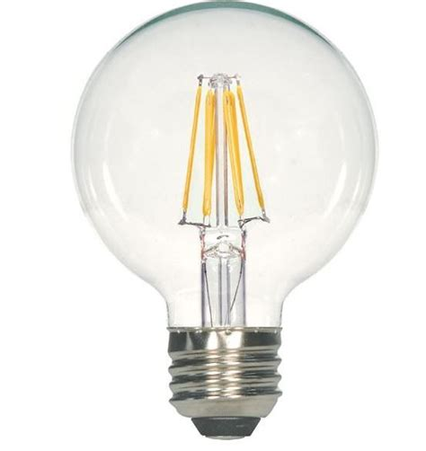 Satco Led Filament Ls by Satco S9564 G25 Globe Led Vintage Filament Light Bulb 6