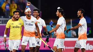 India at CWG 2018: Indian men's hockey score two late ...