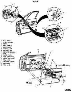 2004 Buick Century Driver Door Latch Repair Diagram