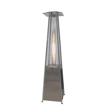 gardensun patio heaters 40 000 btu stainless steel pyramid