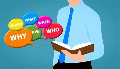 Learning Questions Graphic Why Business Language Job