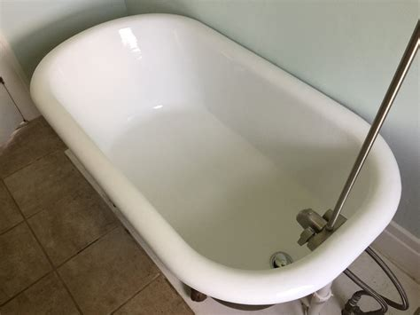 what are bathtubs made of affordable clawfoot tub refinishing the wooden houses