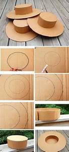 Fabriquer Un Personnage En Carton : comment faire un chapeau en carton ~ Zukunftsfamilie.com Idées de Décoration