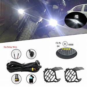 For Bmw R 1200 Gs R1200gs Led Fog Lamp  U0026 Protect Guards  U0026 Wiring Harness For Bmw F800 Gs R1200