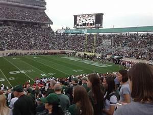 Michigan State Spartan Stadium Seating Chart Spartan Stadium Section 8 Row 29 Seat 8 Michigan