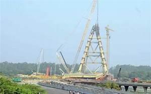 Work on Signature Bridge resumes - The Hindu
