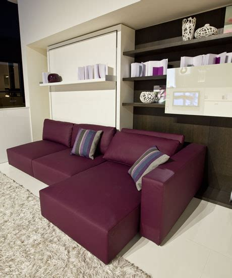 functional furniture with folding bed for small living room swing by clei digsdigs