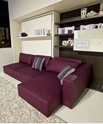 Furnishing A Small Living Room by Functional Furniture With Folding Bed For Small Living Room Swing By Clei
