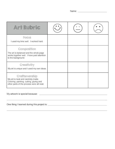 c keyword template art rubric template related keywords art rubric template