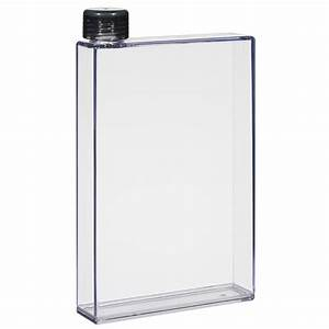 5743 16 oz rectangular water bottle With rectangle water bottle