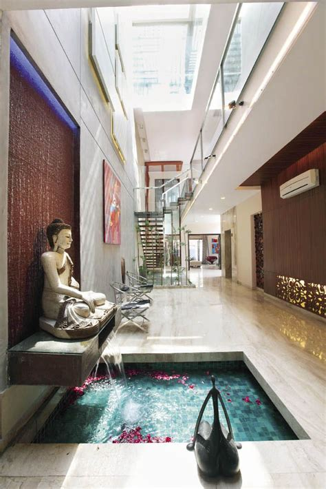 view  waterbodytif foyer design indian home decor