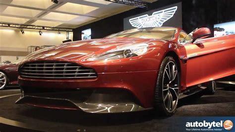 2014 Aston Martin Vanquish Sports Car Video @ 2012 La Auto