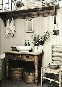 Bad Deko Vintage : die besten 25 badezimmer shabby ideen auf pinterest shabby chic badezimmer shabby chic deko ~ Markanthonyermac.com Haus und Dekorationen