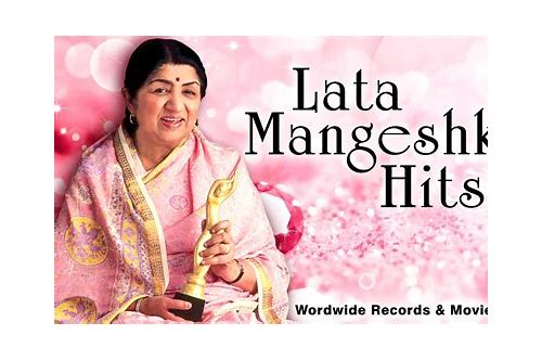 descargar gratis lata mangeshkar hit songs mp3 list