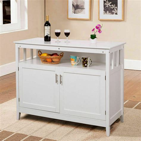 Sideboard Servers by Modern Kitchen Storage Cabinet Buffet Server Table
