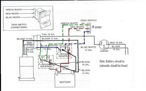 Evinrude Power Trim Wiring Diagram by Tilt Trim Wiring Page 1 Iboats Boating Forums 280929