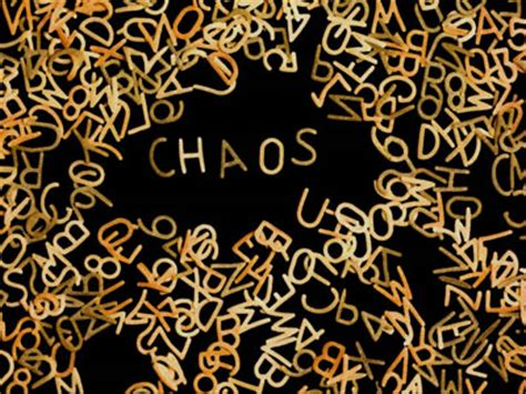 Images Of Chaos Addressing Chaos Braid Mission