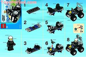 LEGO 5625 Police 4x4 Set Parts Inventory and Instructions ...