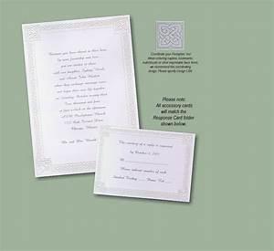 celtic invitation With free printable celtic wedding invitations