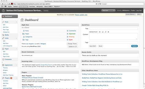 Wordpress Dashboard wordpress basics tutorial logging    admin panel 1300 x 806 · jpeg