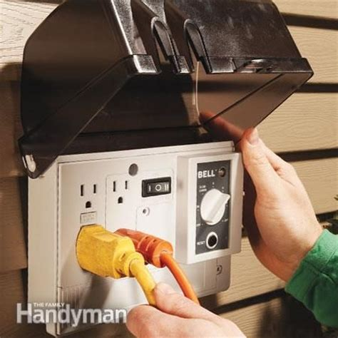 25 best ideas about outdoor outlet on timers