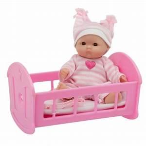 Lit Pour Poupee : poupon 13 cm poup e dans son lit calinou magasin de jouets pour enfants ~ Teatrodelosmanantiales.com Idées de Décoration