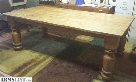 armslist for sale trade antique farm table