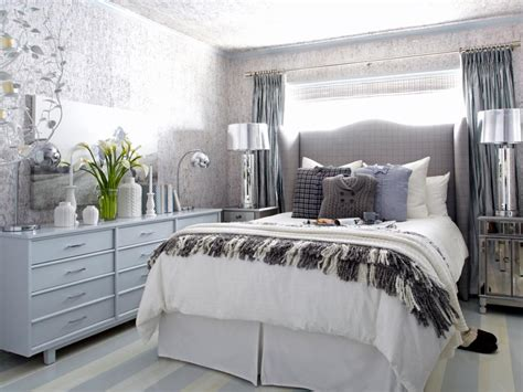 A Sophisticated Bedroom Fit For Winter Guests Hgtv