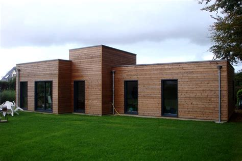 constructeur maison bois normandie maison moderne