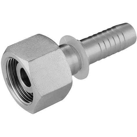 metric female  cone seat  series din  metric heavy series hydraulic stainless steel