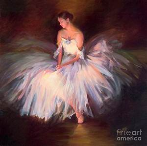 Ballerina Ballet Dancer Archival Print by Patti Trostle