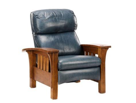 l j g stickley oak morris recliner no 406