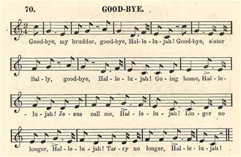 Michael Row The Boat Ashore Slave Song by William Francis Allen 1830 1889 Charles Pickard Ware