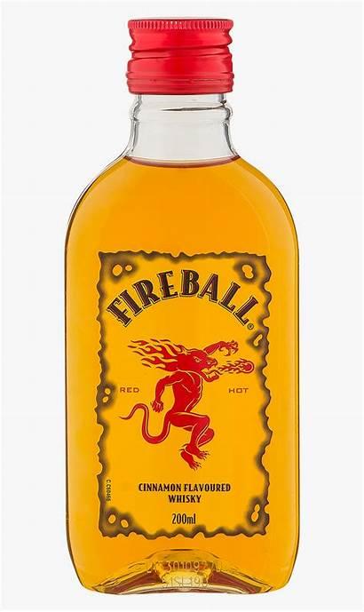 Fireball Whiskey Whisky Cinnamon 200ml Clipart Clipartkey