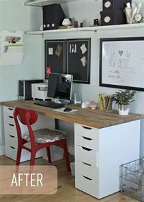 Armoire De Bureau Chez Ikea by The Lovely Cupboard Our Ikea Office Makeover Numer 196 R