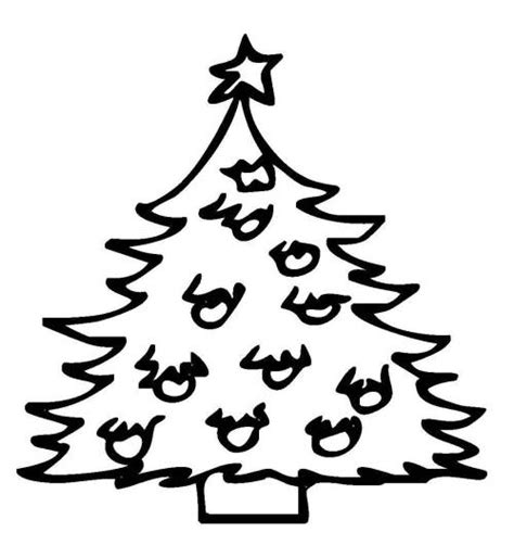 kostenlose malvorlage weihnachten christbaum mit vielen