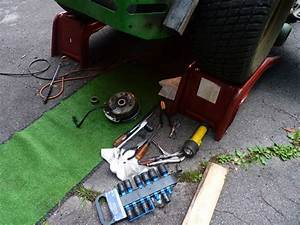Broken Pto Clutch Wire - Jd717a