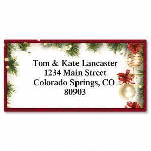 christmas address labels santa snowflake current catalog With current christmas labels
