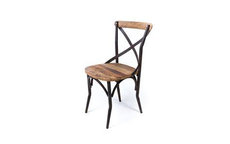 chaises bistrot bois chaise bistrot industrielle vieux bois chaises en métal