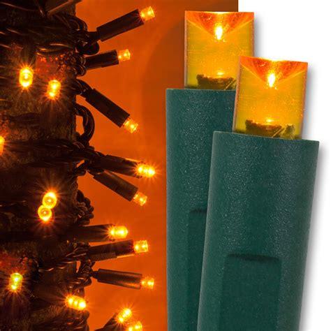 wide angle mm led lights  orange christmas lights