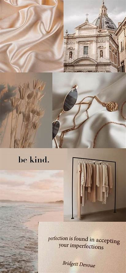Iphone Aesthetic Collage Minimalistic Pastel Wallpapers Classy