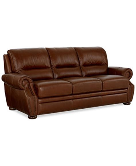 italsofa leather sofa macys royce leather sofa furniture macy s