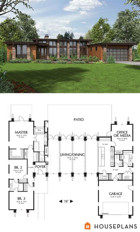 plan   wwwhouseplanscom modern style house plan