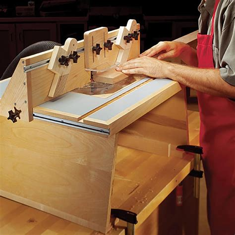 Benchtop Router Table Woodworking Plan From Wood Magazine