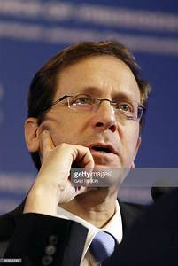 Israeli MP and co-leader of the Zionist Union party, Isaac ...