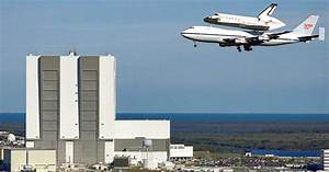 Space Shuttle Endeavour Hitching A Ride Atop A 747 To Its